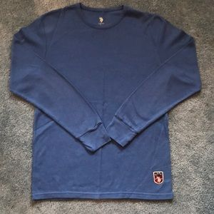 Crew neck thermal knit ~ like new